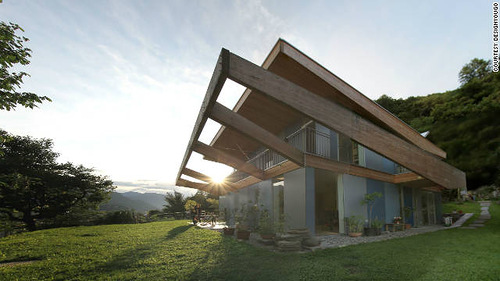 The greenest buildings of 2011. Locarno, Switzerland