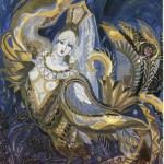 Maria Fedorova. Gold bird of Sirin. 1992