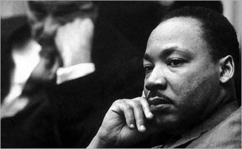 Martin Luther King, Jr. (January 15, 1929 – April 4, 1968), American clergyman, activist, and leader in the African-American Civil Rights Movement
