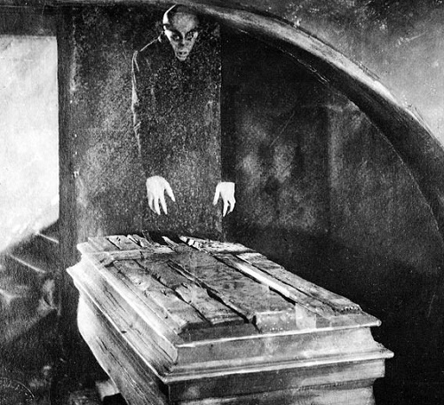 In Sweden, the film was banned until 1972. Max Schreck
