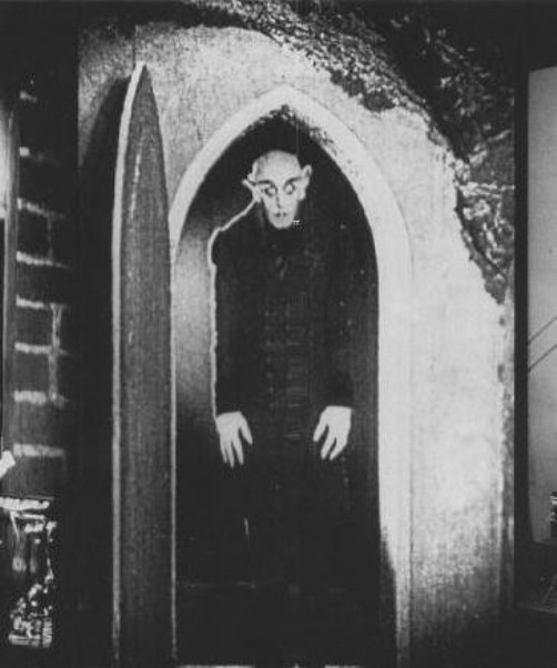 the vampire Count Orlok