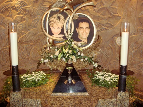 Memorial to Diana and Dodi in Harrods