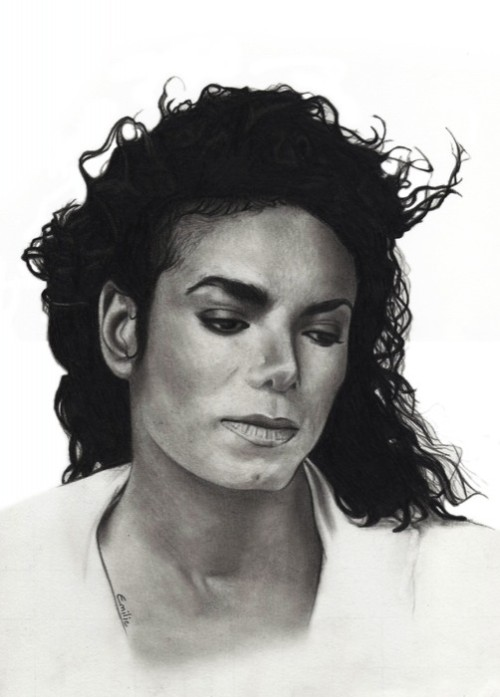Michael Jackson was immortalized in cement