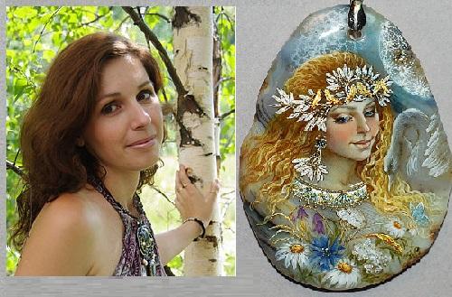 Gorgeous Russian artist Svetlana Belovodova