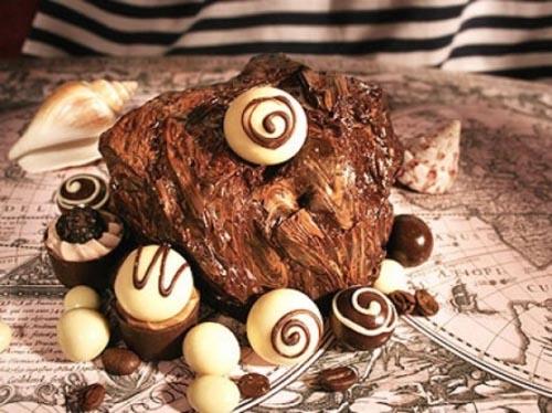 Fabulous chocolate sculpture