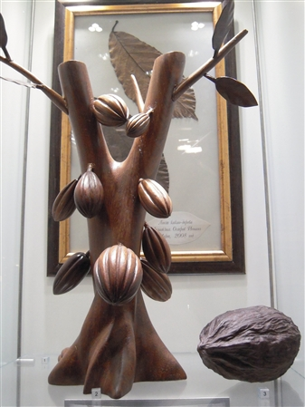 Fabulous chocolate sculpture