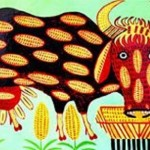 Maria Prymachenko (1908–1997) Ukrainian village folk art painter