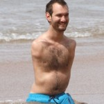 Happy Vujicic enjoys honeymoon on the beach a week after marrying