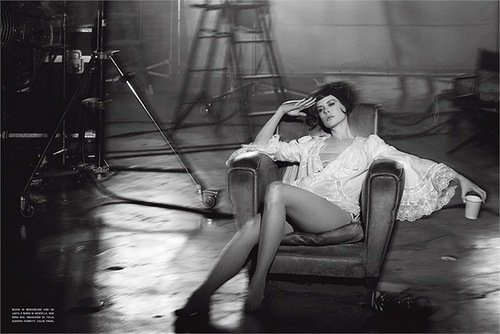Actress Nicole Kidman for Vogue Italy, photo by Peter Lindbergh