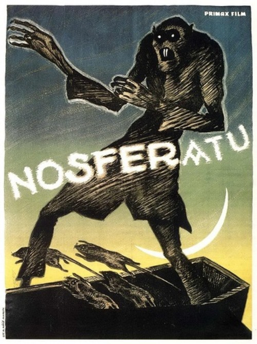 horror film, directed by F. W. Murnau