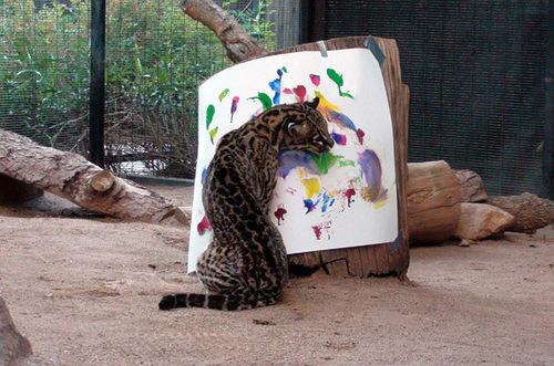 Ocelot Pedfut – Animal painters