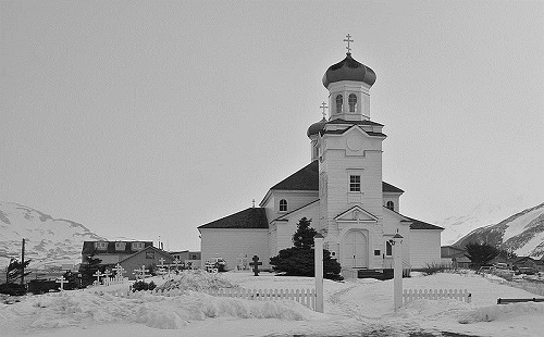 Orthodox church in Alaska