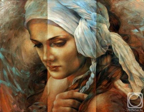 Painting by Russian artist Arthur Braginsky