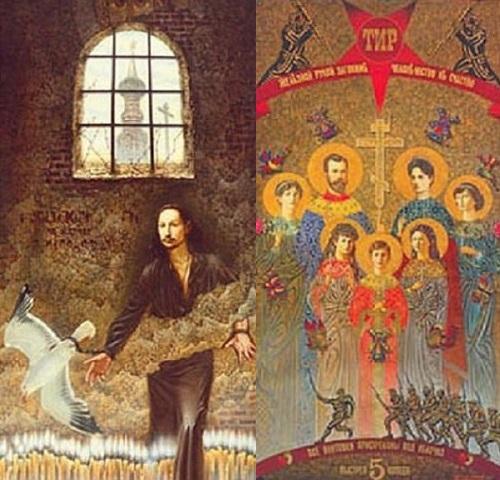 Painting by Russian artist Valery Balabanov