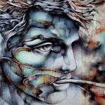 Paintings by Italian artist Francesco Jacobello
