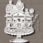 Architectors. Paper art by Chinese artist Bovey Lee