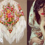 Pavlovsky Posad shawls beauty