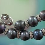 Closeup Pearl beads