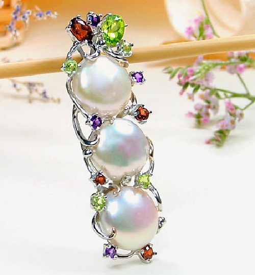 Jewelry decoration with Pearl