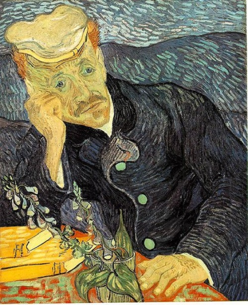most expensive paintings ever sold. Portrait of Dr. Gachet by Dutch post-Impressionist painter Vincent van Gogh, $144.1