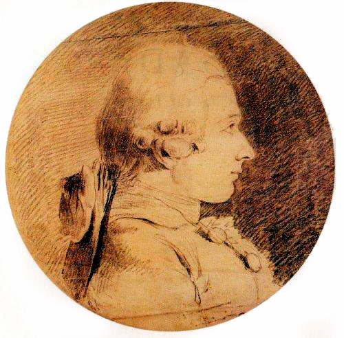 Portrait of the Marquis de Sade by Charles-Amédée-Philippe van Loo (c. 1761), the only portrait that Sade actually sat for. Eighteenth-century pervert Marquis de Sade