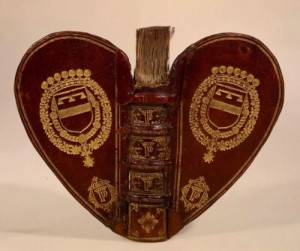 Heart shaped books of the XVth century