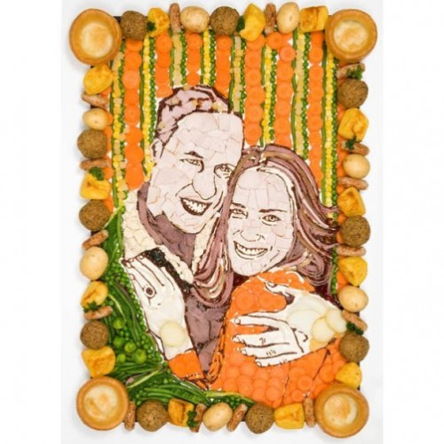 Prince William and Kate Middleton. Art should stimulate taste Prudence Staite