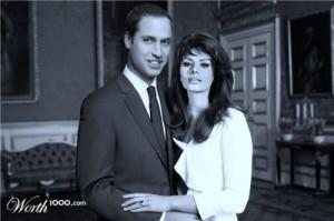 Prince William and Sophia Loren