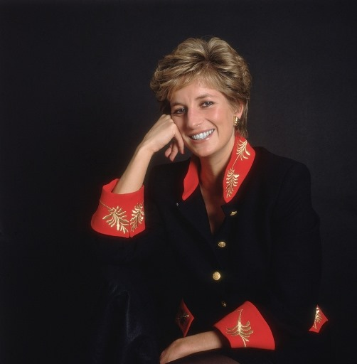 The queen of hearts Princess Diana