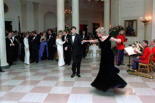 Princess Diana of Wales and John Travolta