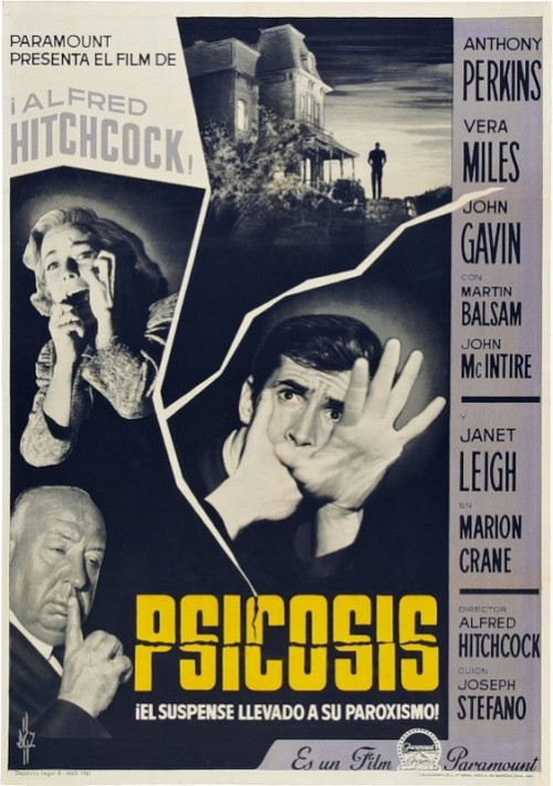 Psycho by Hitchcock
