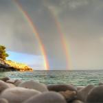 To reach a Rainbow photo contest