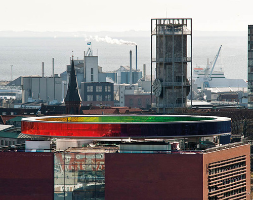 Stunning Rainbow Panorama - installation created by Olafur Eliasson