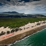 """""""Reef 'In Danger"""" Banner At Abbot Point"""