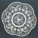 Silver Filigree tray