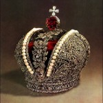 Russian Imperial Crown decorated with pearls