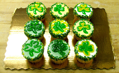 Dishes on Saint Patrick's