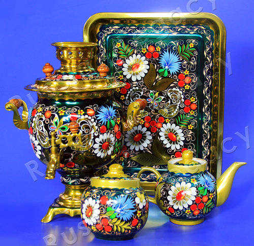Traditional Russian Samovar