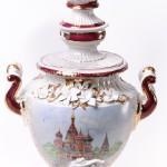 St. Basil's cathedral Porcelain samovar