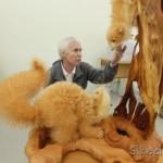 Talented Russian wood carver and teacher Sergey Bobkov