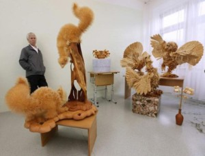 The master spends 12-14 hours in his workshop daily and made only 11 figures for five years