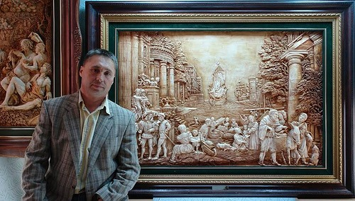 Ukrainian artist Sergey Karpenko