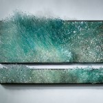 Wind and Water series. Glass sculpture by American artist Shayna Leib