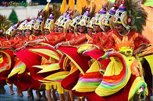 Beautiful Sinulog festival Philippines