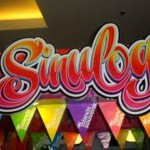 The banner with the word Sinulog