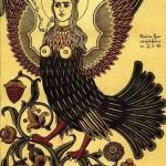 Artist Ivan Yakovlevich Bilibin (1876–1942). Sirin