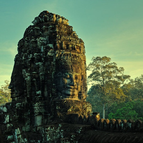The Bayon and Khmer art