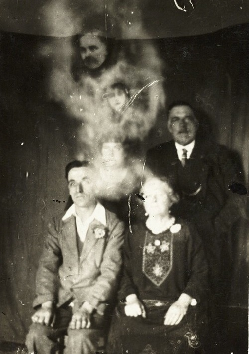 Weird Spirit photograph