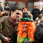 St. Patrick's celebration in Moscow, Russia