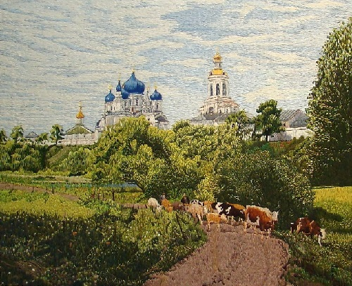 Stitch Embroidery by Russian craftswoman Galina Porokhnya